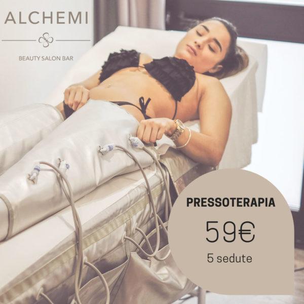 pressoterapia 5 sedute 59 euro